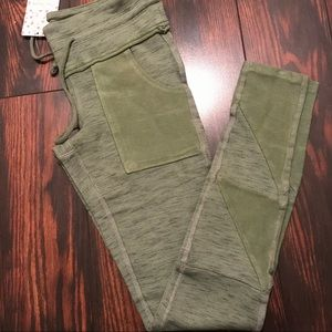 Free People Kyoto Leggings Light Green Size XS